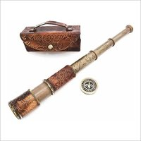 B01HPX9U8M Nautical Handheld Pirate Brass Telescope with Box / Case ,Sailor Home Decor Pirate Captain Boat Toy Gift (14