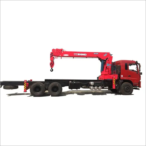 QYS-12IVC factory supply telescopic boomed 12 tons hydraulic stiff boomed loader crane