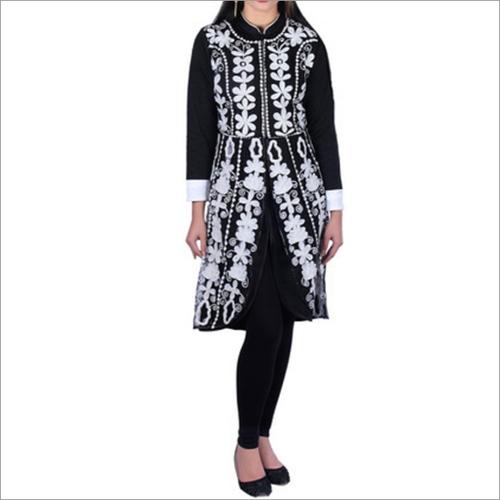 Ladies Embroidered Woolen Kurti
