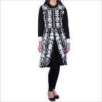 Ladies Embroidered Woolen Kurti