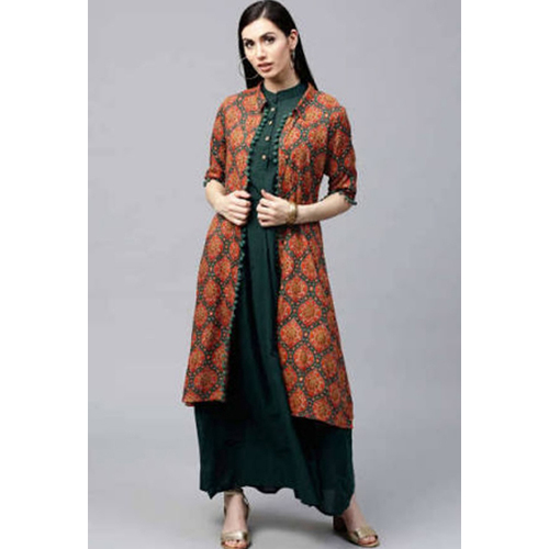 Ladies Double Layered Kurti