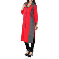 Ladies Full Sleeve Long Kurti