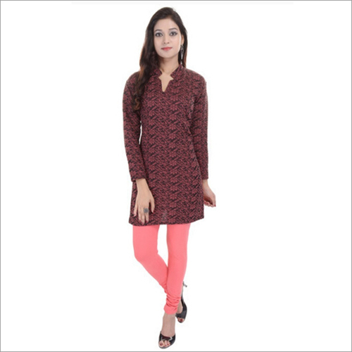 Ladies Short Woolen Kurti