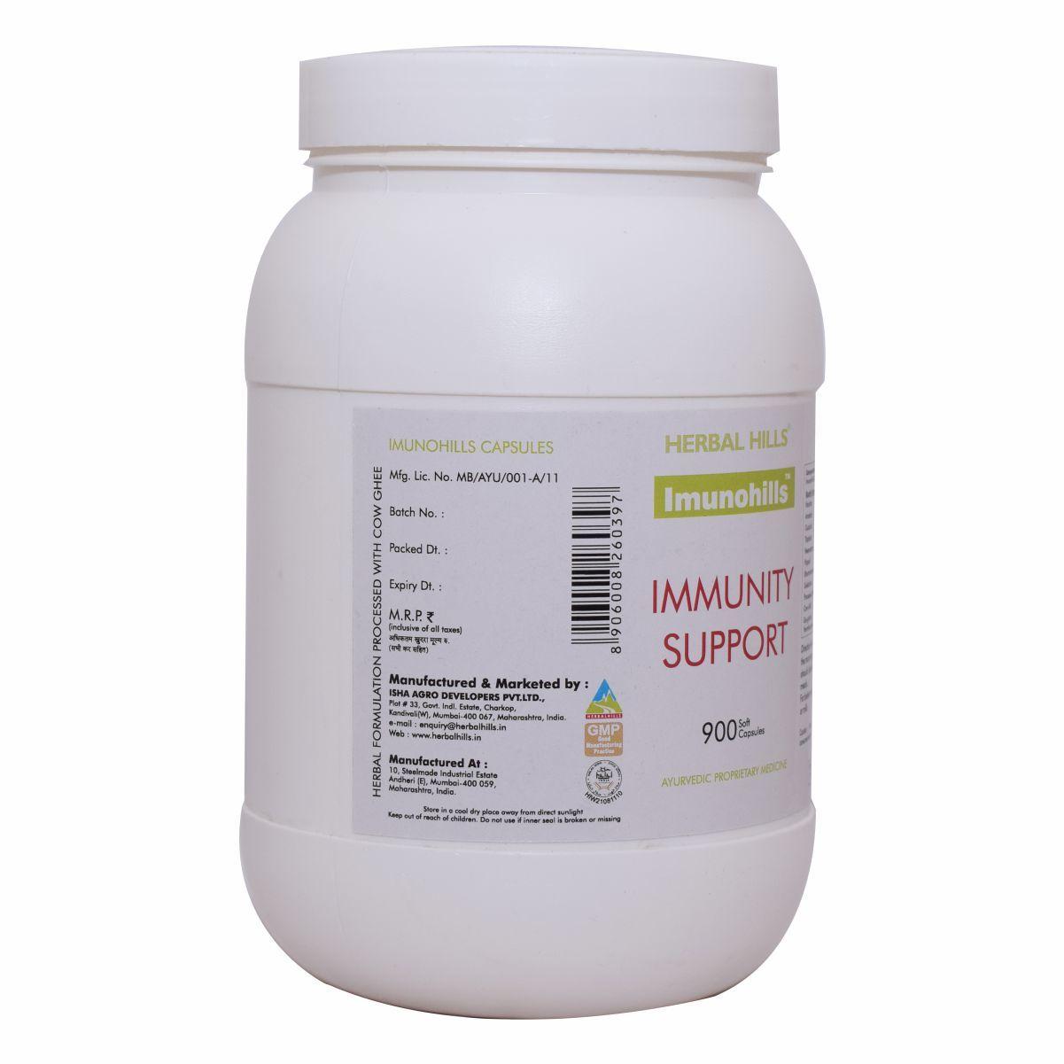 Ayurvedic Immunity booster medicine - Imunohills 900 capsule