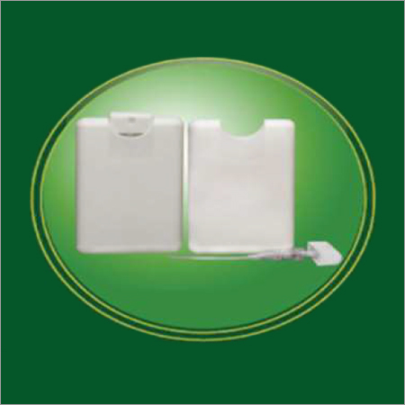 White Card With Cap Sprayer