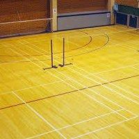 Teak Wood Sports Flooring