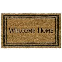 welcome home rubber welcome mats