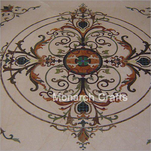 Inlaid Floor Medallion
