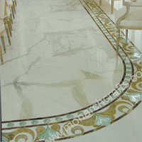 Flower Floor Borders Tiles