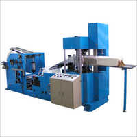 Semi Automatic Napkin Paper Making Machine