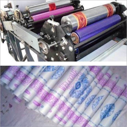 Dining Table Paper Roll Making Machine