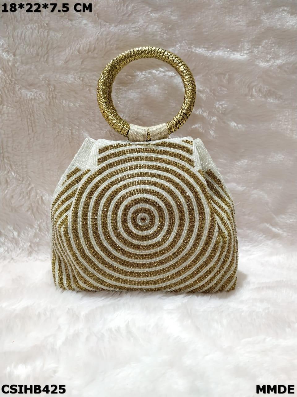 Stonework Handbag