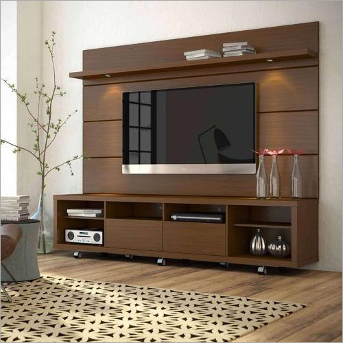 Designer Wooden TV Unit
