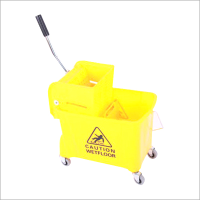 Ltr Wringer Trolley Single Bucket