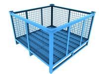Cage Bin with door