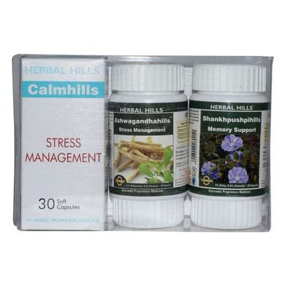 Ayurvedic Medicine For Stress And Depression - Calmhills Combination Pack Certifications: Iso