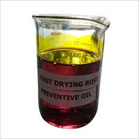 Fast Drying Rust Preventive Oil