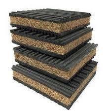 cork sandwich isolation pads