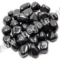Black Agate tumbled