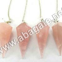 Rose Quartz pendulumn