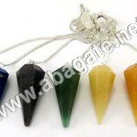Mix Gemstone pendulumn