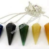 Mix Gemstone pendulumn