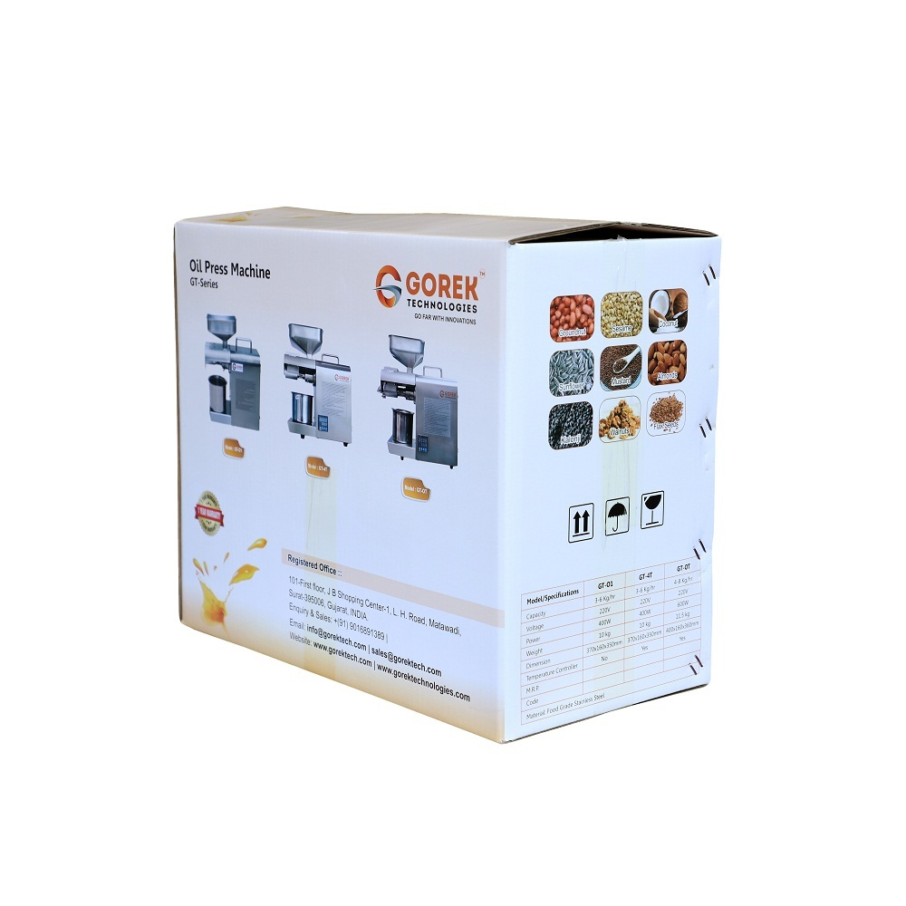 Mini Oil Expeller With Advanced Technology