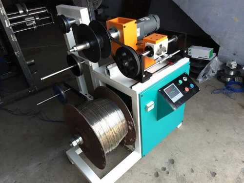 Aluminium wire winding machine