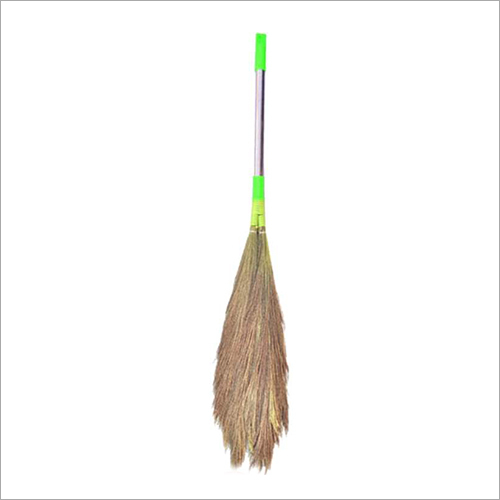 SS Handle Grass Broom