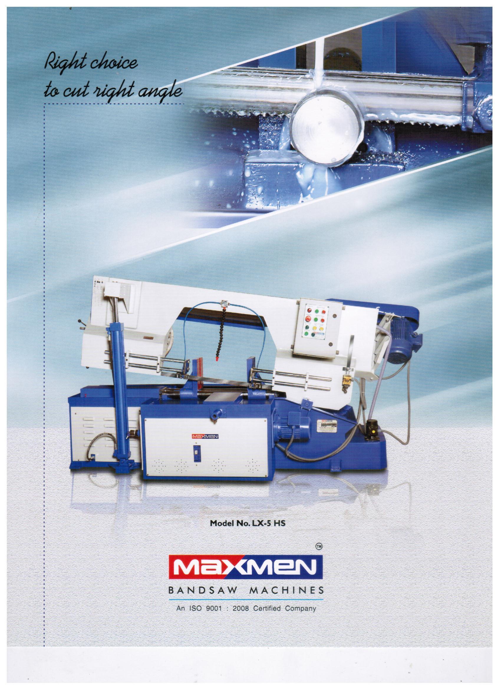 High Speed Metal Cutting Bandsaw Machines
