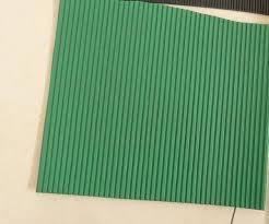 Green Foam Rubber Pads