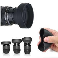 Collapsible Rubber Lens Hood