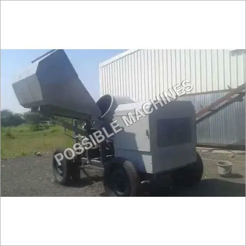 One Bag Concrete Mixer Hydraulic Hopper