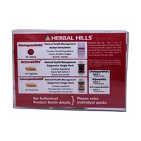 Ayurvedic Medicine for Heart Health - Chologuardhills Combination Pack
