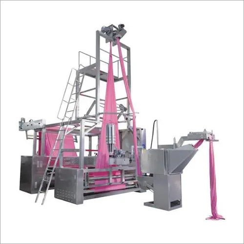 Automatic rope open and slitting machine