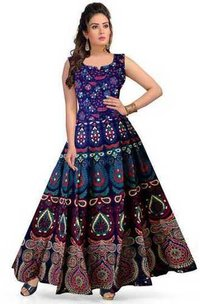 jaipuri maxi dress