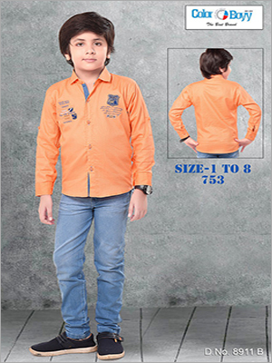 Boy Shirt With Full Pant Set