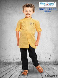 Boys Modern Indo Western Full Pant Set