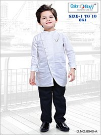 Boys Casual Indo Western With Pant Set