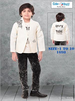 Boys Party Wear Western Coat Set
