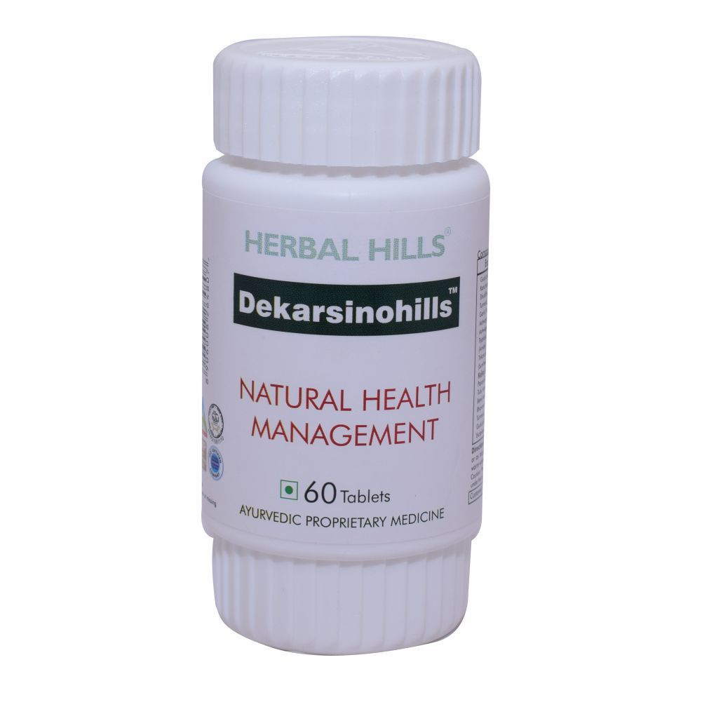 Ayurvedic Medicine for Healthy Cell Care - Dekarsenohills 900 Tablets