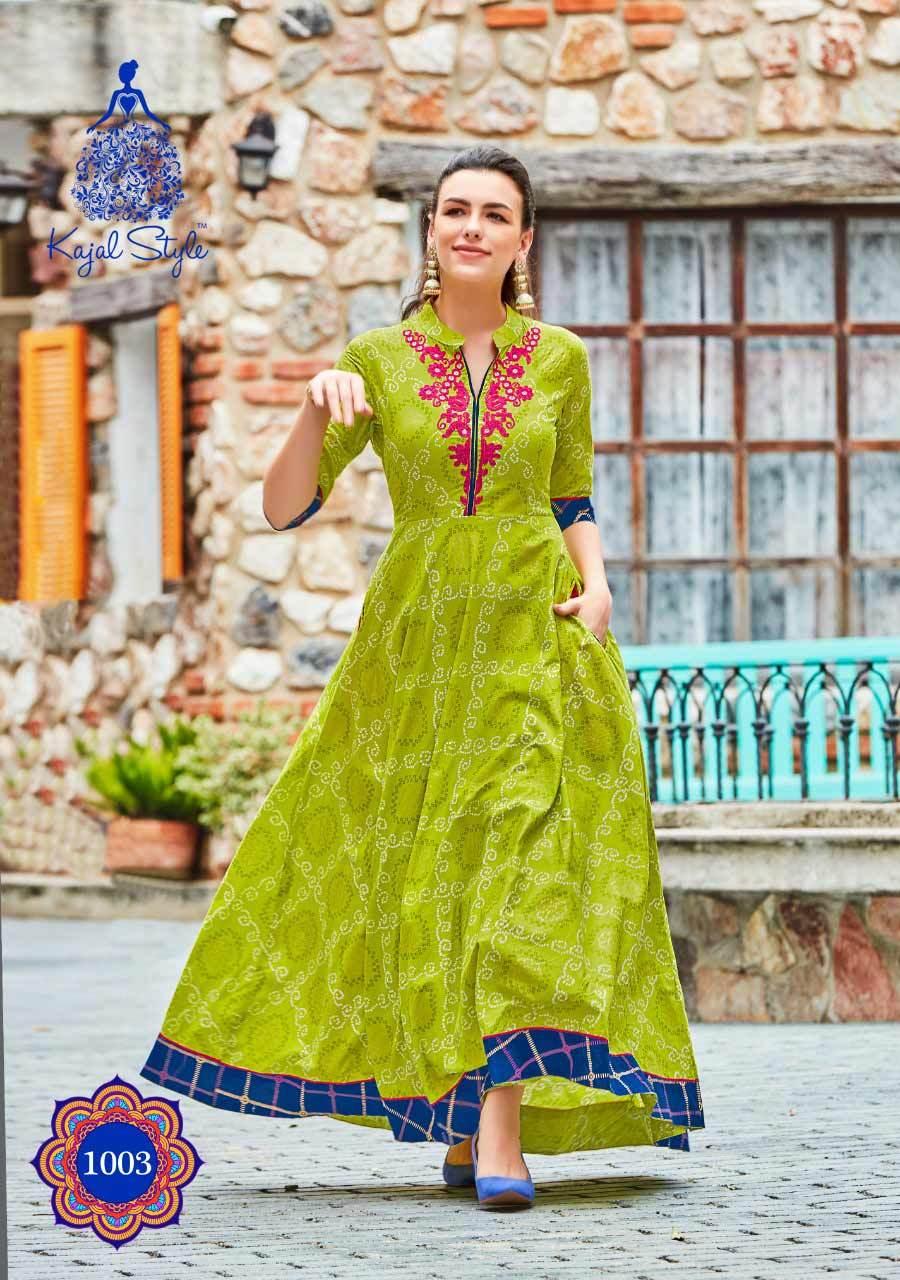Chanderi Cotton kurti