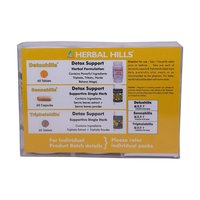 Ayurvedic Medicine for  Detoxification of Body - Detoxhills Combination Pack