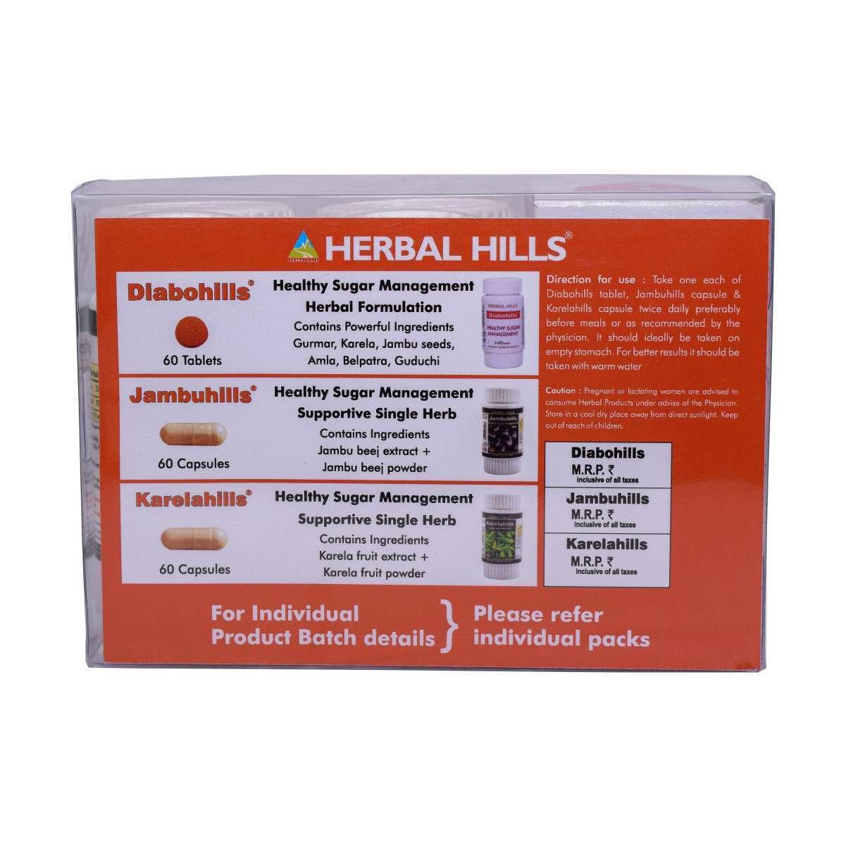 Diabohills Kit - Medicine for Liver, Diabetes & Healthy Blood Sugar