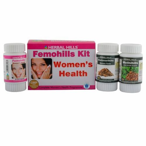 Best Ayurvedic Medicine for Women's Health - Femohills Combination Pack