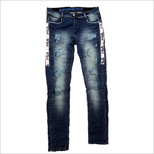 Mens Customised Jeans