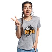 Bahut Kadak Yedaz Womens Fashionable T-Shirt