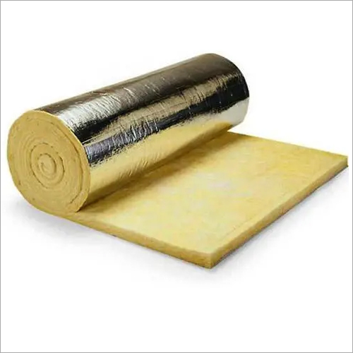 Fiber glass wool With Aluminum foil