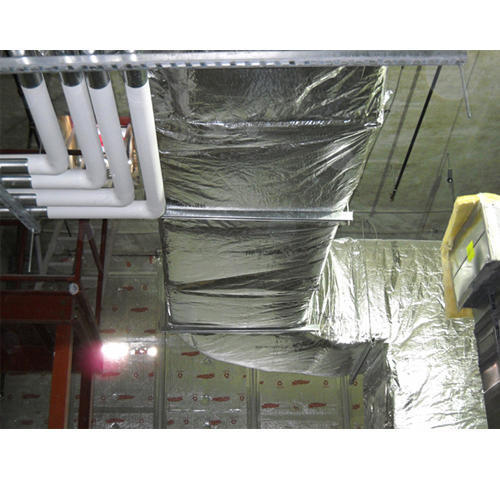 Faced Duct Wraps