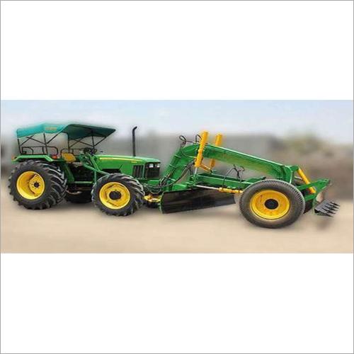 Tractor Grader with Dozzer Attachment